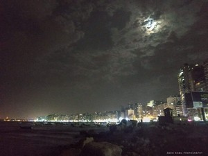 DARK NIGHT ALEXANDRIA EGYPT