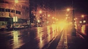 DARK NIGHT سٹریٹ, گلی ALEXANDRIA EGYPT