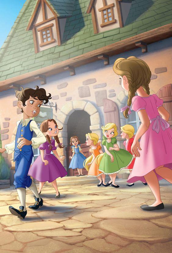 4c0bfb26f DP Beginnings - Belle's Discovery - Disney Princess Photo (41624484 ...