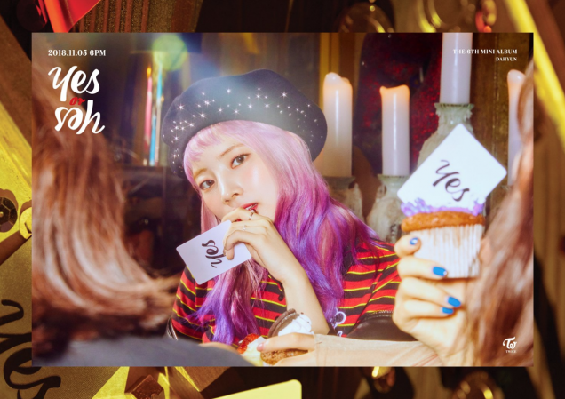 """Dahyun's teaser image for """"Yes or Yes"""""""