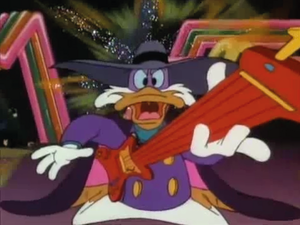 Darkwing Duck rules the guitar