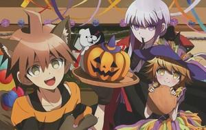 Danganronpa Хэллоуин