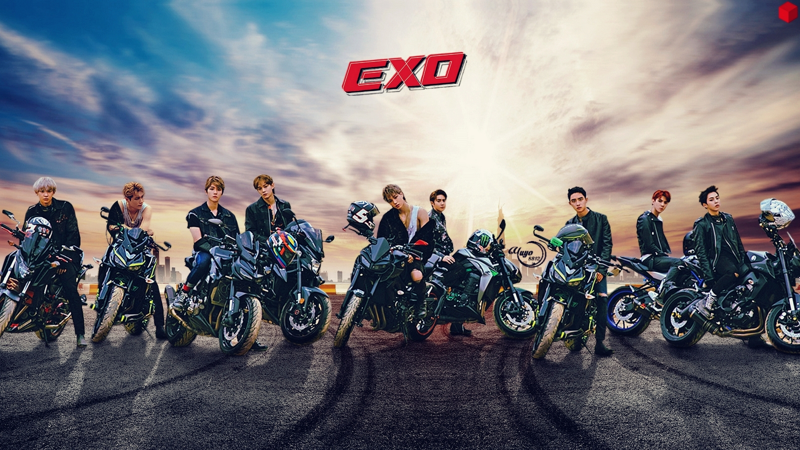 Yulliyo8812 Images Exo Tempo 3 Wallpaper Hd Fond D Ecran And