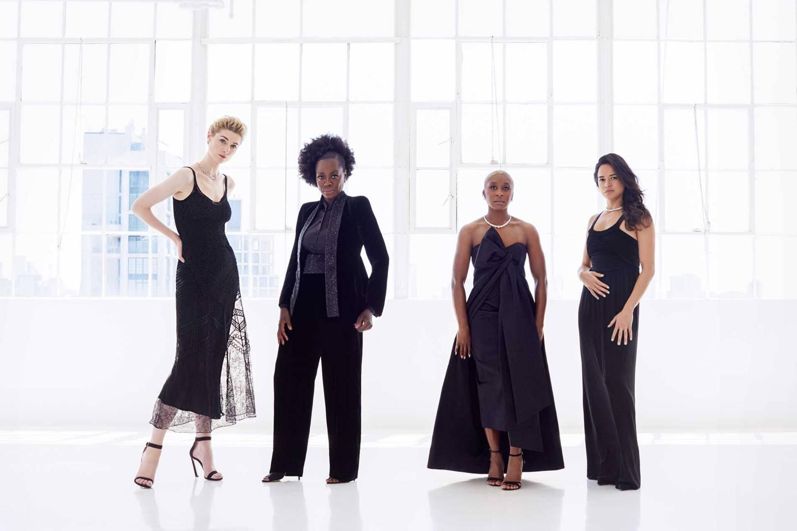 Elizabeth Debicki, Viola Davis, Cynthia Erivo and Michelle Rodriguez - Vogue Photoshoot - 2018