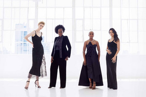 Elizabeth Debicki, Viola Davis, Cynthia Erivo and Michelle Rodriguez - Vogue Photoshoot - 2018