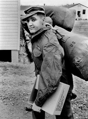Elvis Aron Presley (United States Army service ~March 24, 1958-March 5, 1960)