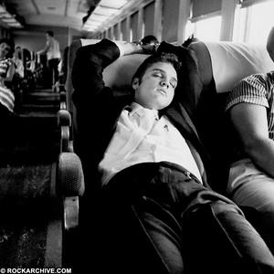 Elvis Taking A Nap