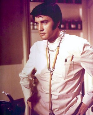 "Elvis in ""Change of Habit"" (1969)"