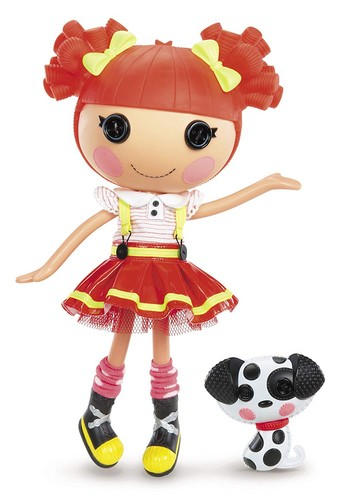 Lalaloopsy achtergrond titled Ember Flicker Flame