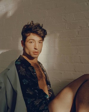 Ezra Miller - Playboy Photoshoot - 2018