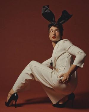Ezra Miller - Playboy Photoshoot - 2018