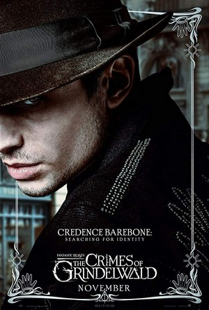 Fantastic Beasts: The Crimes of Grindelwald (2018) Poster - Credence Barebone