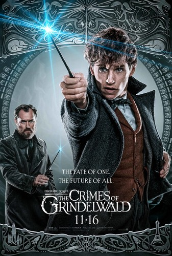 Fantastic Beasts and Where to Find Them wallpaper titled Fantastic Beasts: The Crimes of Grindelwald (2018) Poster - Dumbledore and Newt