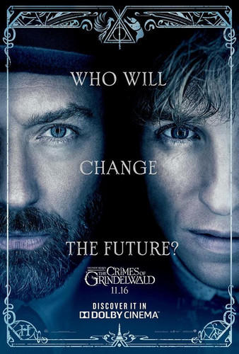 Fantastic Beasts and Where to Find Them wallpaper entitled Fantastic Beasts: The Crimes of Grindelwald (2018) Poster - Dumbledore and Newt