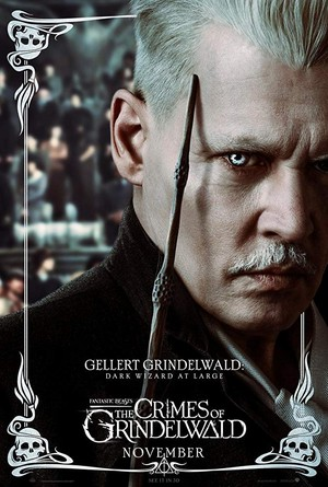 Fantastic Beasts: The Crimes of Grindelwald (2018) Poster - Gellert Grindelwald
