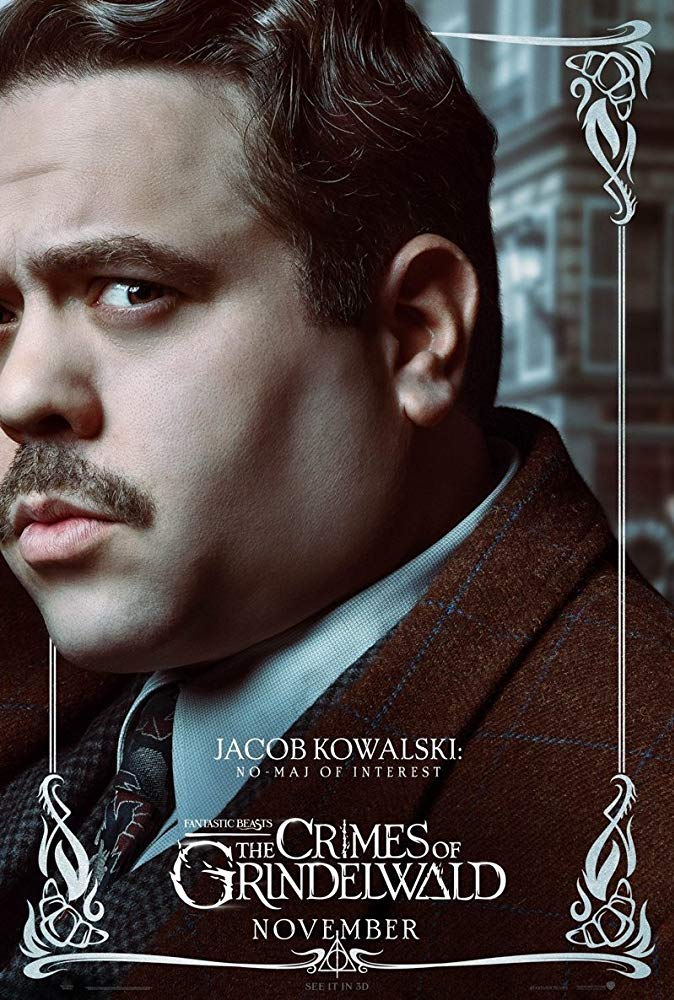 Fantastic Beasts: The Crimes of Grindelwald (2018) Poster - Jacob Kowalski