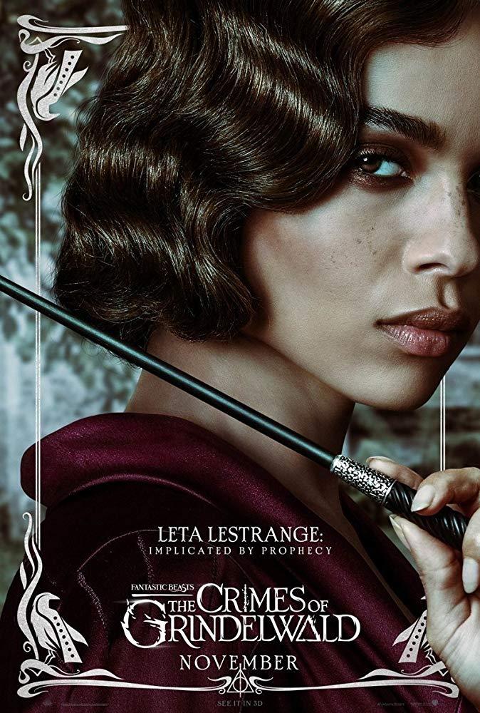 Fantastic Beasts: The Crimes of Grindelwald (2018) Poster - Leta Lestrange