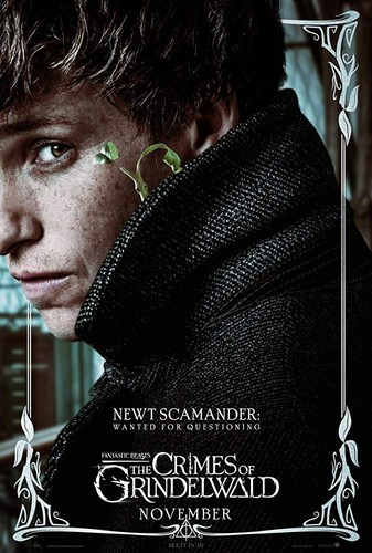 Fantastic Beasts and Where to Find Them wallpaper called Fantastic Beasts: The Crimes of Grindelwald (2018) Poster - Newt Scamander