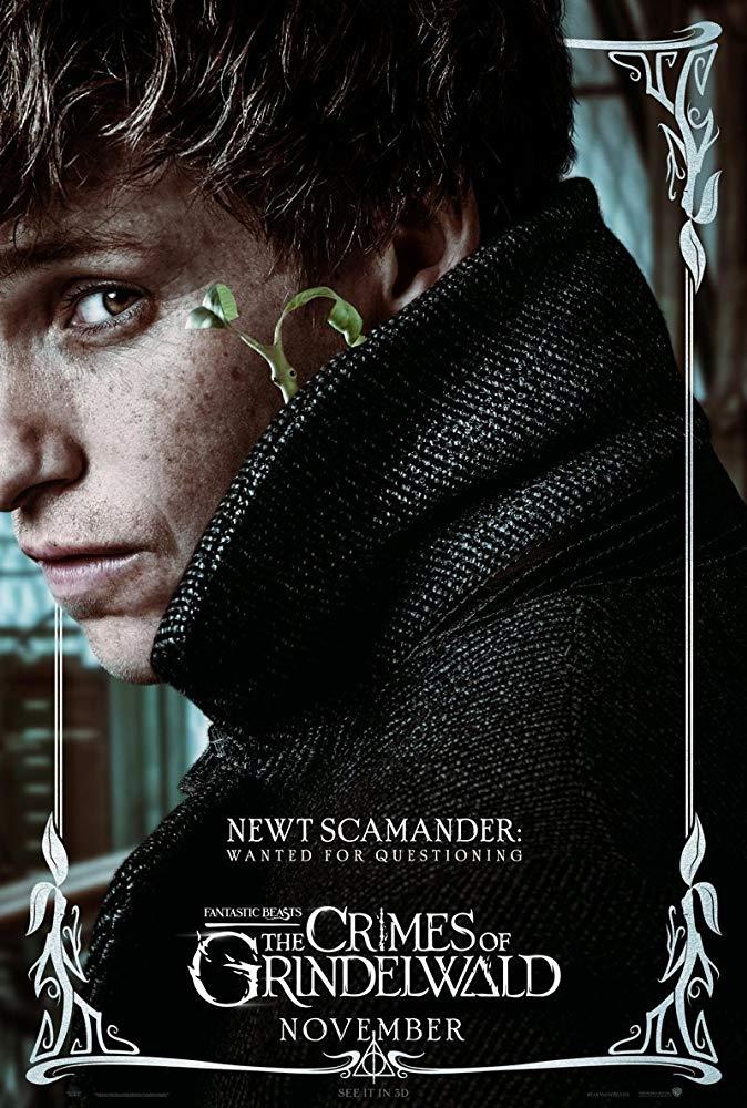 Fantastic Beasts: The Crimes of Grindelwald (2018) Poster - Newt Scamander