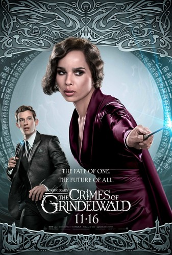 Fantastic Beasts and Where to Find Them wallpaper called Fantastic Beasts: The Crimes of Grindelwald (2018) Poster - Theseus and Leta