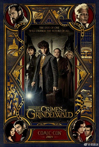 Fantastic Beasts and Where to Find Them fondo de pantalla titled Fantastic Beasts: The Crimes of Grindelwald (2018) Poster