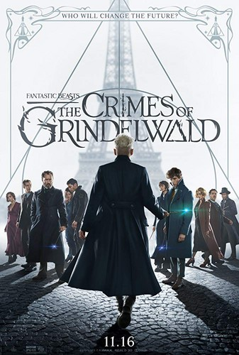 Fantastic Beasts and Where to Find Them wallpaper entitled Fantastic Beasts: The Crimes of Grindelwald (2018) Poster