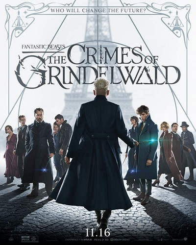 Fantastic Beasts and Where to Find Them wallpaper titled Fantastic Beasts: The Crimes of Grindelwald (2018) Poster