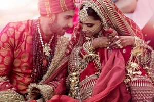 First Wedding Pics Of Deepika Padukone And Ranveer Singh