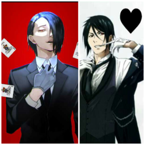 Furuta Nimura and Sebastian Michaelis