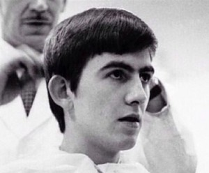 George get's a haircut!