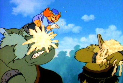 Disney's Adventures of the Gummi Bears fond d'écran entitled Grammi ices ogres