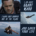 Grant Ward: Saved Your Life - agents-of-shield photo