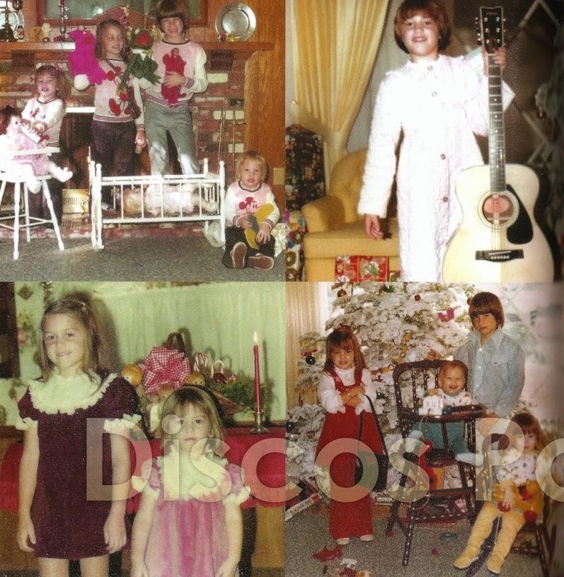 Gwen Stefani - Childhood Christmas Photos
