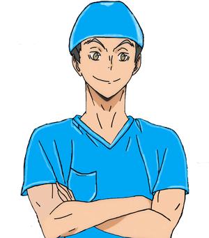 Haikyuu Nurse Bokuto