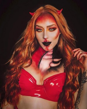 Halloween makeup🎃