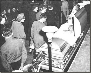 Hank Williams' Funeral In 1953