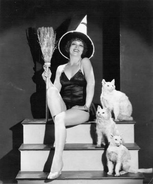 Happy Halloween with Clara Bow!