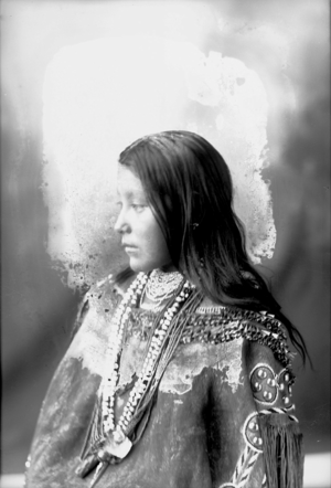 Hattie (Daughter of Tom Chiricahua and Co Seh) Chiricahua ~Frank A Rinehart 1898