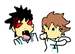 Iwa chan punches Oikawa - random icon