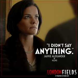 Jaimie Alexander in London Fields