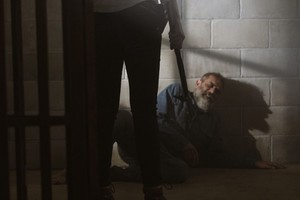 Jeffrey Dean morgan as Negan in 9x05 'What Comes After'