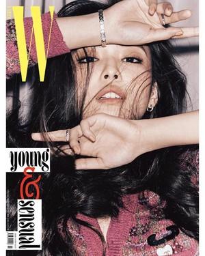 Jennie for W Korea Magazine Cover November 2018 Issue