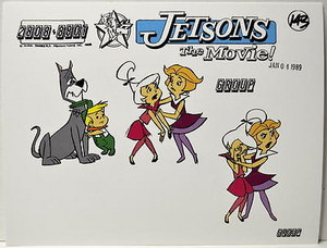 Jetsons The Movie Model Sheet