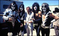 KISS and Stan Lee Borden Chemical Company Depew ~New York, May 25, 1977  - kiss photo