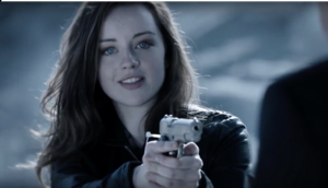 Kacey Rohl as Sarah Ellis