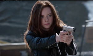 Kacye Rohl as Sarah Ellis