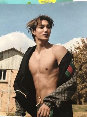Kai for W Korea magazine  November 2018
