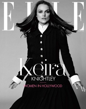 Keira Knightley for Elle Magazine [November 2018]