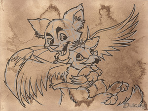 Khajiit and Gryphon