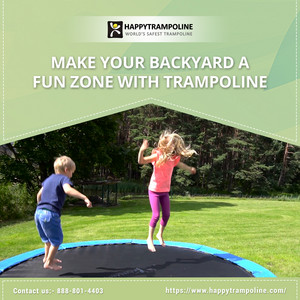 Kids Trampoline For Sale | Investment Pack With Both Safety And Adventure